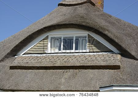Eyebrow Window In Thatched Roof
