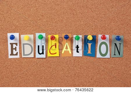 Education Single Word
