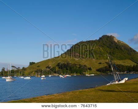Mount Maunganui's Pilot Bay.