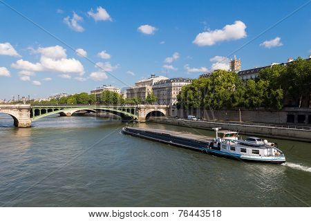 Embankment Of Paris.