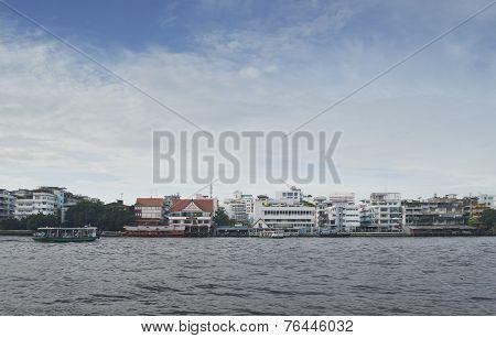 River In Bangkok