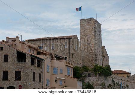 Grimaldi's Castle In Antibes
