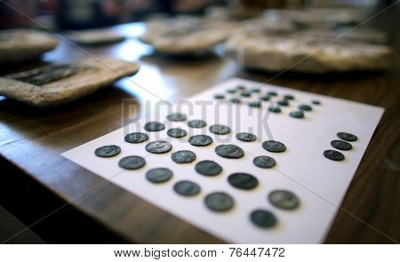Centuries Old Coins