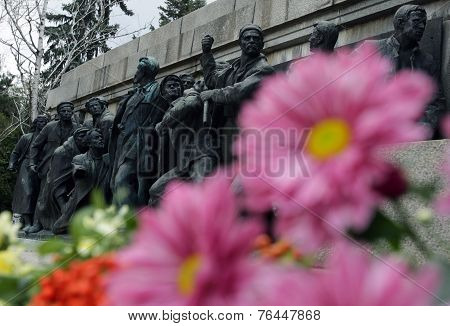 Soviet War Memorial Monument
