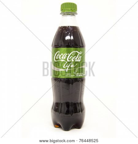 Coca Cola Life Bottle