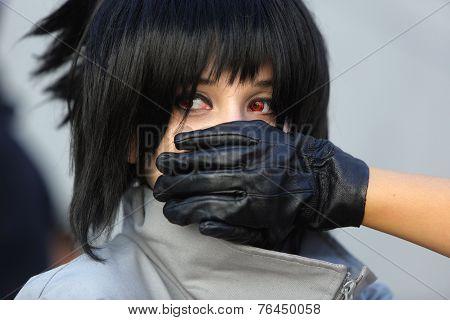 Manga Girl Silenced
