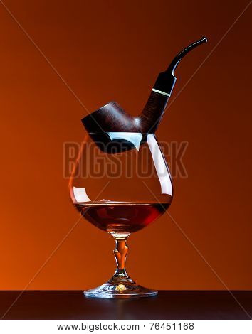 Pipe And  Brandy