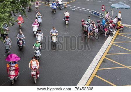 Traveling By Motorcycles
