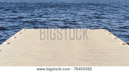 Floating Dock Pad