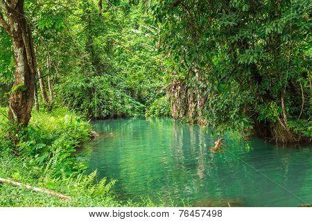 Blue Lagoon, Vang Vieng, Laos