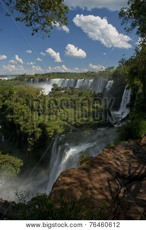 The Argentinian Side Of The Iguazu Falls