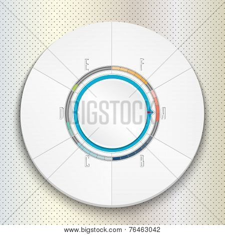 Circular Progress Bar can be used for infographics