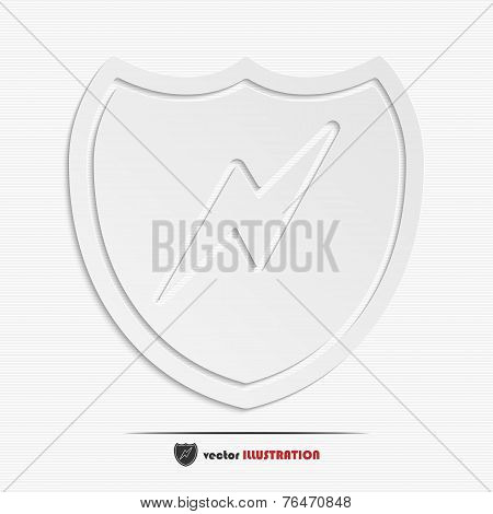 Abstract Shield Web Icon