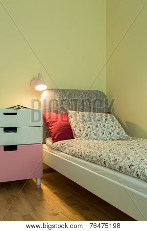 Teenage Girl's Room Interior
