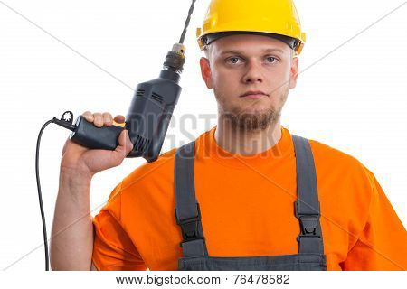 Constructor with drill