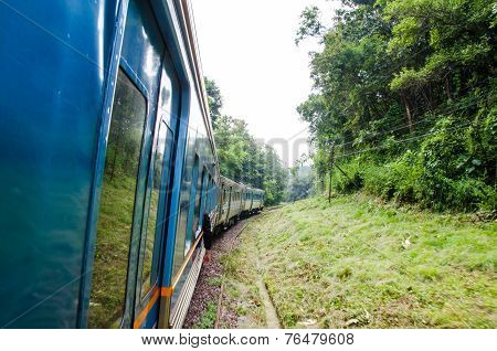 Train In Thailand.