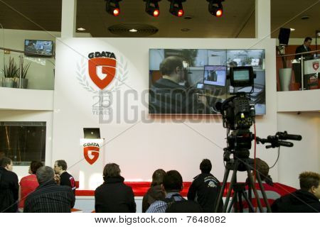 Stand of G Data on Cebit 2010