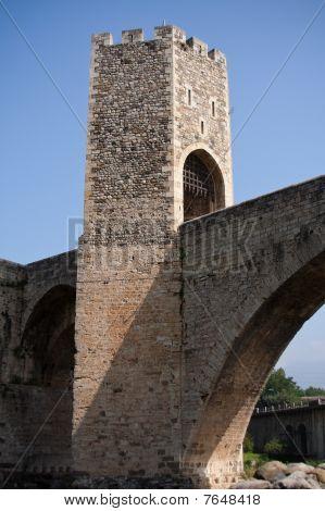Bridge to Stronghold Besalu, Spain
