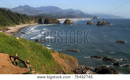 Cannon Beach, north Oregon coast