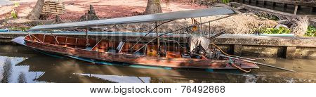 Long Tailed Boat