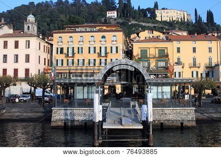 Resort town at Lake Como, Italy