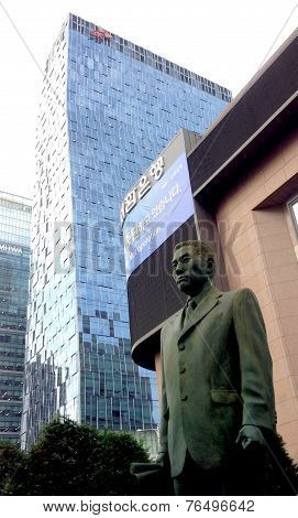 Seoul, South Korea: Ode to businessman