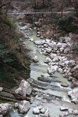 stock photo of sochi  - river Agura near Sochi - JPG