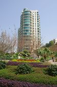 pic of lantau island  - Apartment blocks in Lantau Island Hong Kong - JPG
