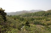 image of lantau island  - View on mountains of Lantau island in Hong Kong - JPG
