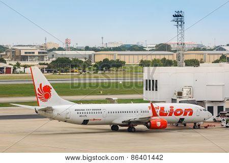 Thai Lion Air in Bangkok Thailand
