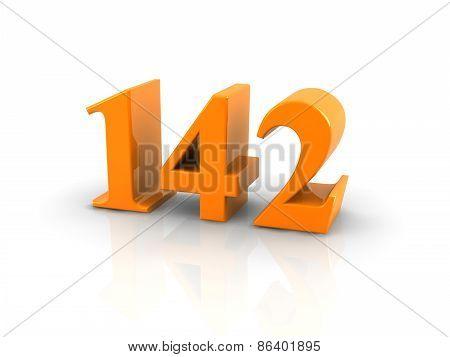 Number 142