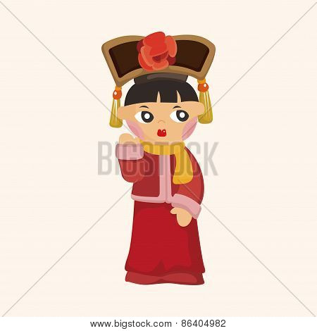 Chinese People Theme Elements