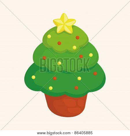 Christmas Tree Theme Elements