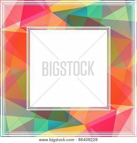 multicolored frame