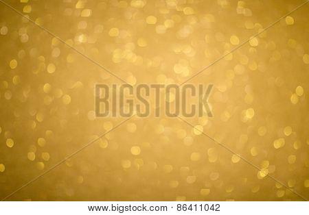 Gold Glitter Texture, Soft Focus