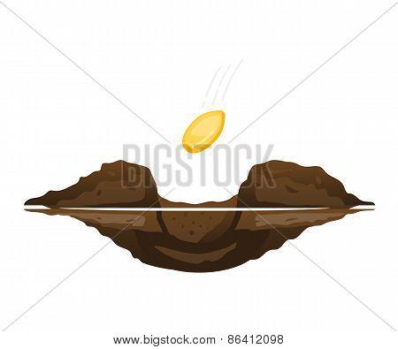 Falling Seed