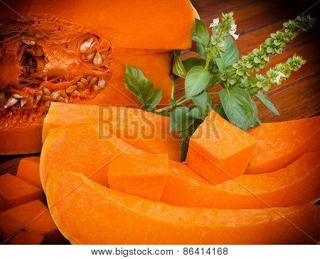 Edible pumpkin (squash, abundance)
