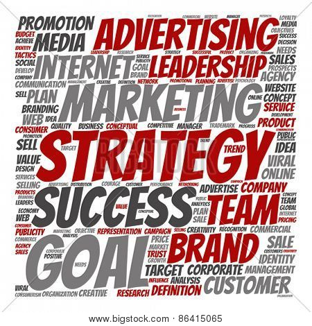 Vector concept or conceptual leadership marketing or business te
