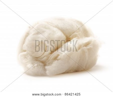 Cotton Wool On White