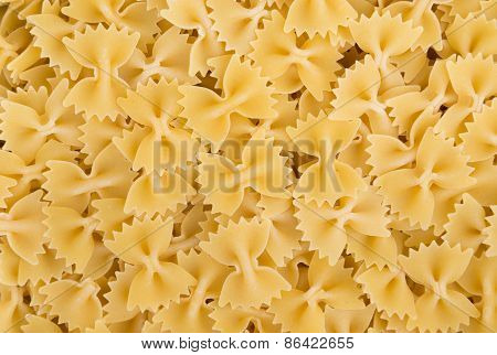Raw Farfalle Bow Tie Pasta