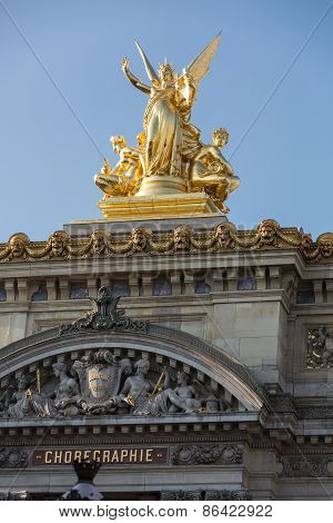The Paris Opera or Garnier Palace.France