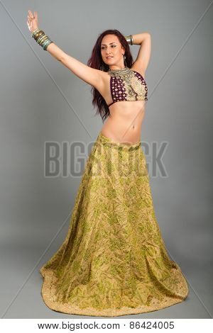 Young Beautiful Belly Dancer