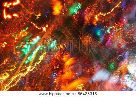 Zoom Blur Lights