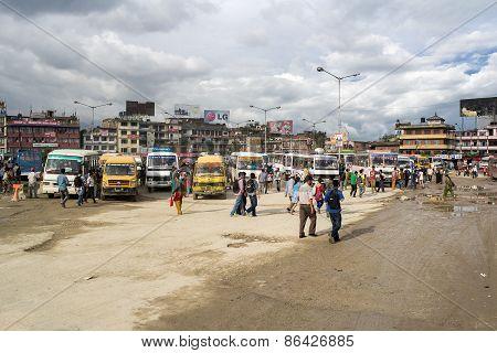 Kathmandu Bus Station