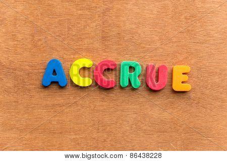 Accrue