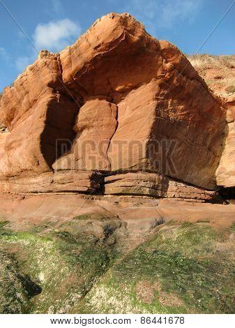 Cliffs Seascape