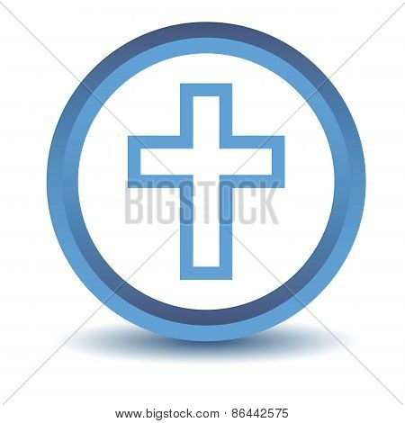 Blue Protestant Cross icon