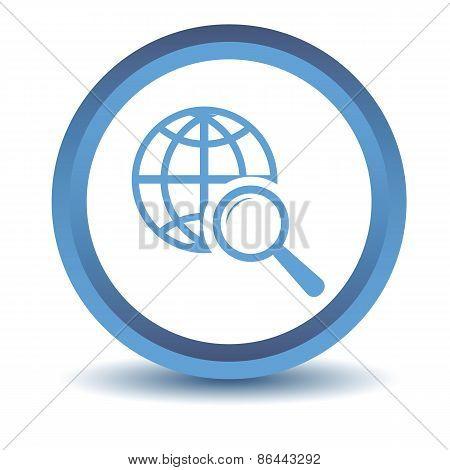 Blue World scan icon