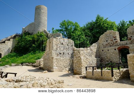 Castle ruins (Smolen in Poland)