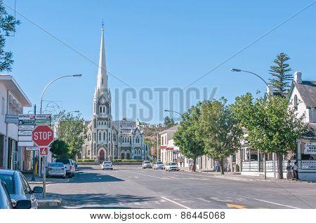 Street Scene In Graaff Reinet